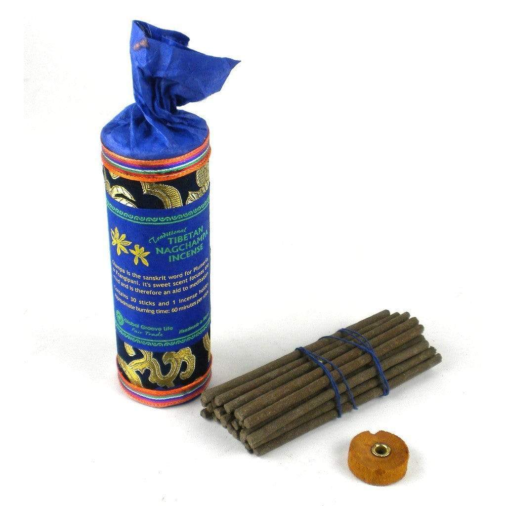 Global Groove (I) Incense Tibetan Incense, Nag Champa -