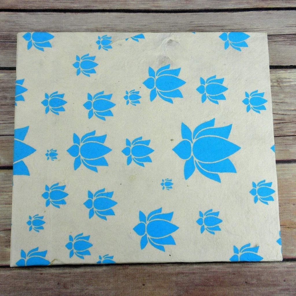 Global Groove (S) Journals Lotus Journal, Large Turquoise - Global Groove (S)