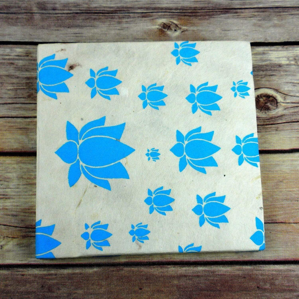 Global Groove (S) Journals Lotus Journal, Small Turquoise - Global Groove (S)