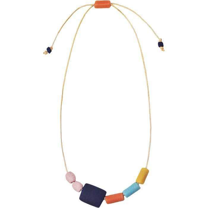 Global Mamas (Jewelry) Ghanaian Collection Kalahari Necklace Rainbow - Global Mamas (Jewelry)