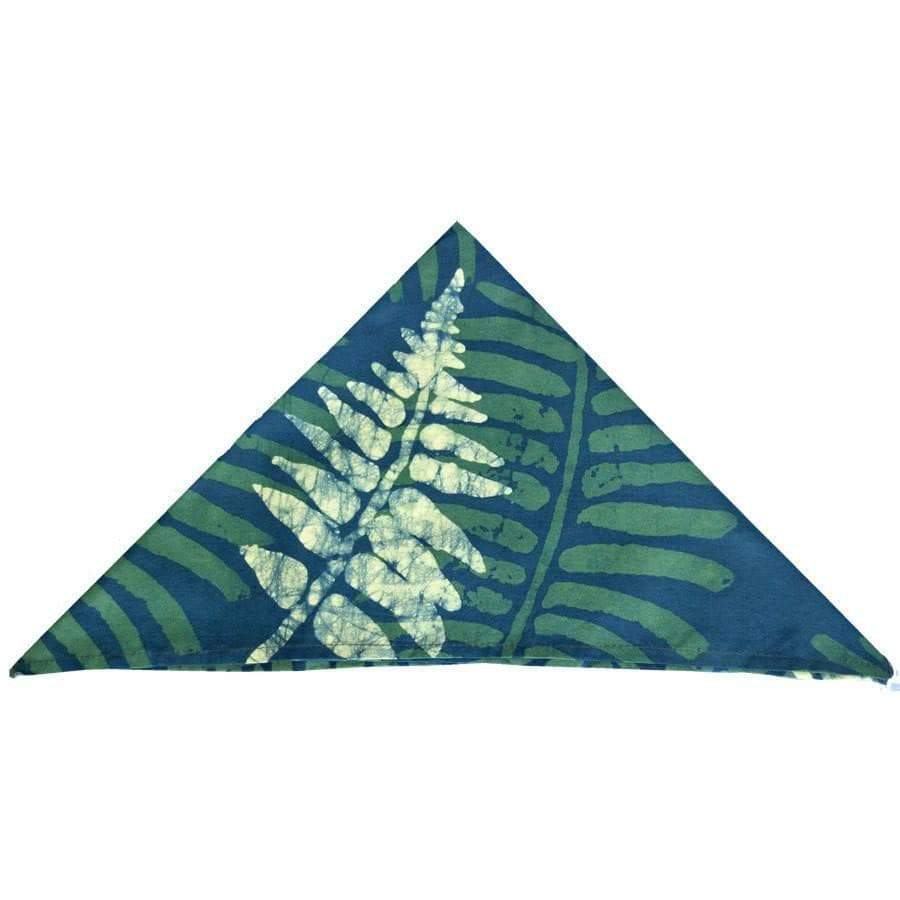 Global Mamas (L) Home Decor-Linens Set of Four Napkins - Jungle Green - Global Mamas (L)