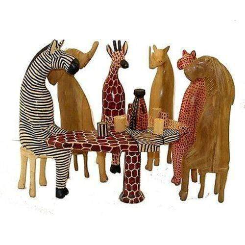 Jedando Handicrafts (H) Other Home Decor PARTY ANIMAL SET - JEDANDO HANDICRAFTS (H)