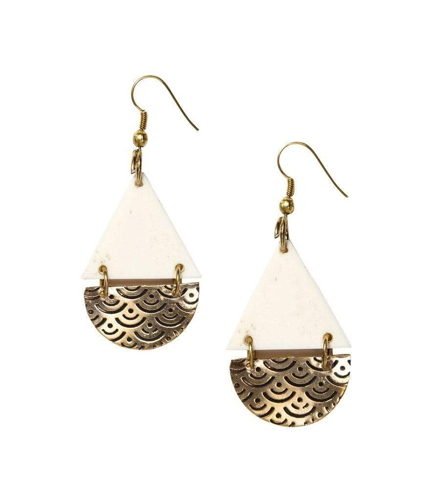 Matr Boomie (Jewelry) Earrings Anika Earrings Teardrop Design - Matr Boomie (Jewelry)