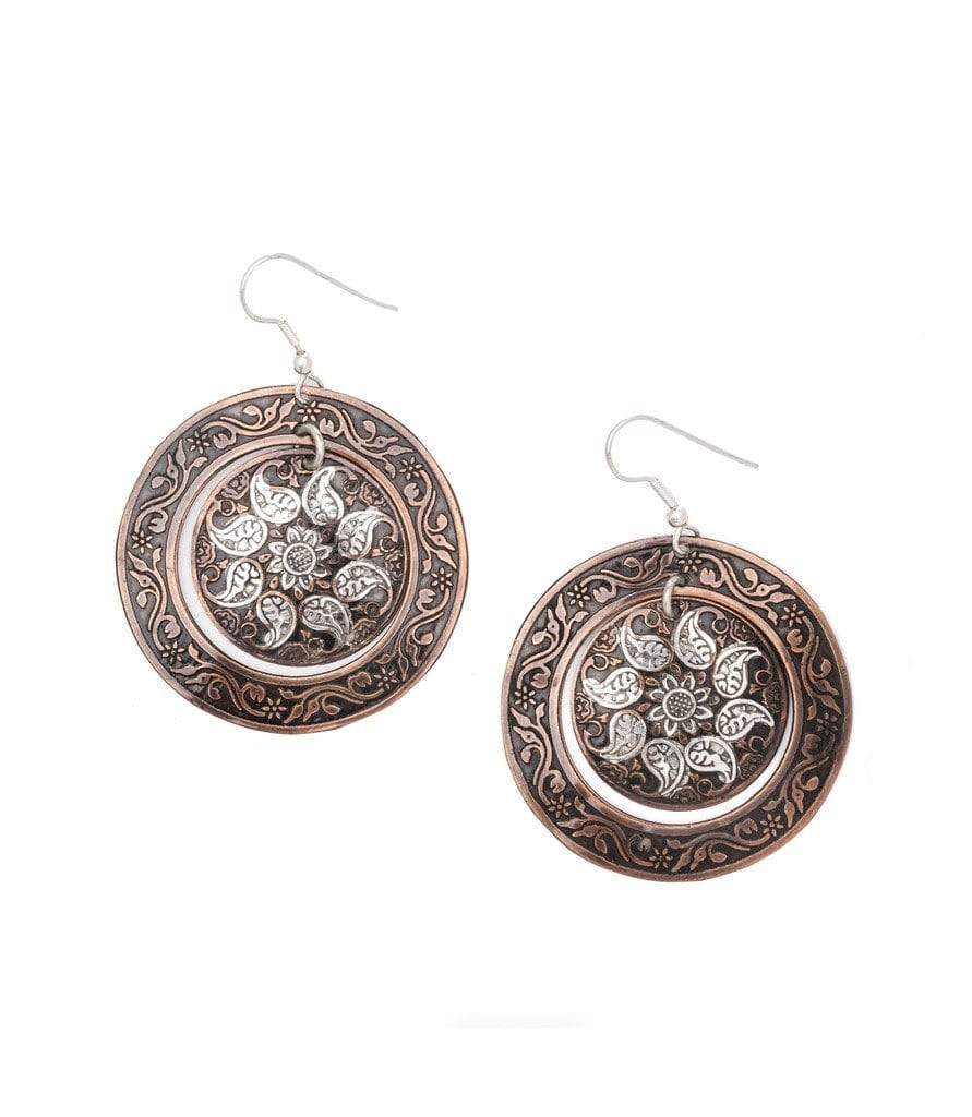 Matr Boomie (Jewelry) Earrings Samaira Metal Earrings - Matr Boomie (Jewelry)