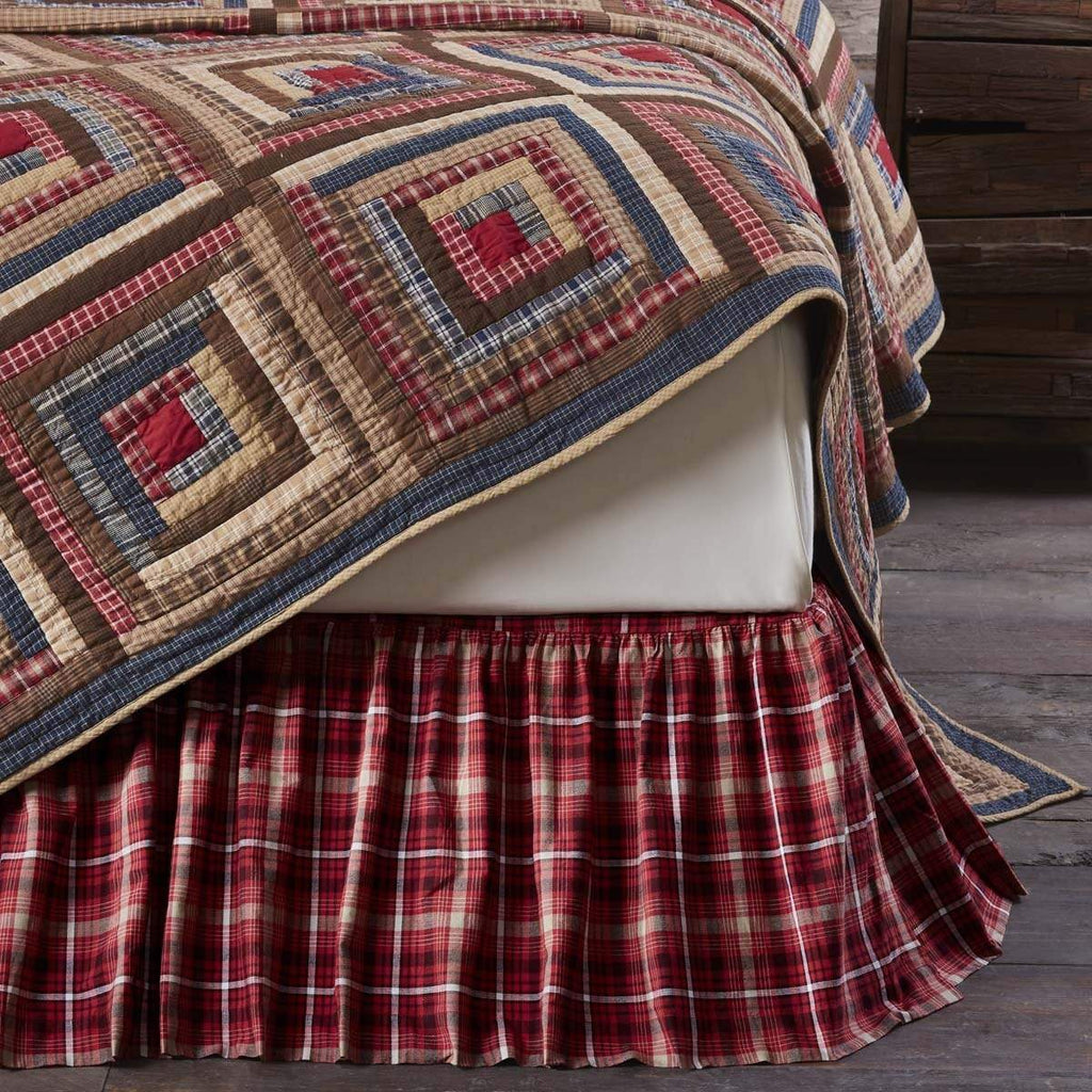 Mayflower Market Bed Skirt Braxton Queen Bed Skirt 60x80x16