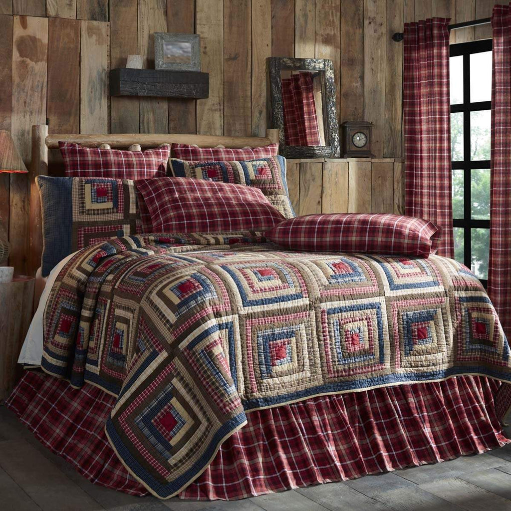 Mayflower Market Quilt Braxton Luxury King Quilt 120Wx105L