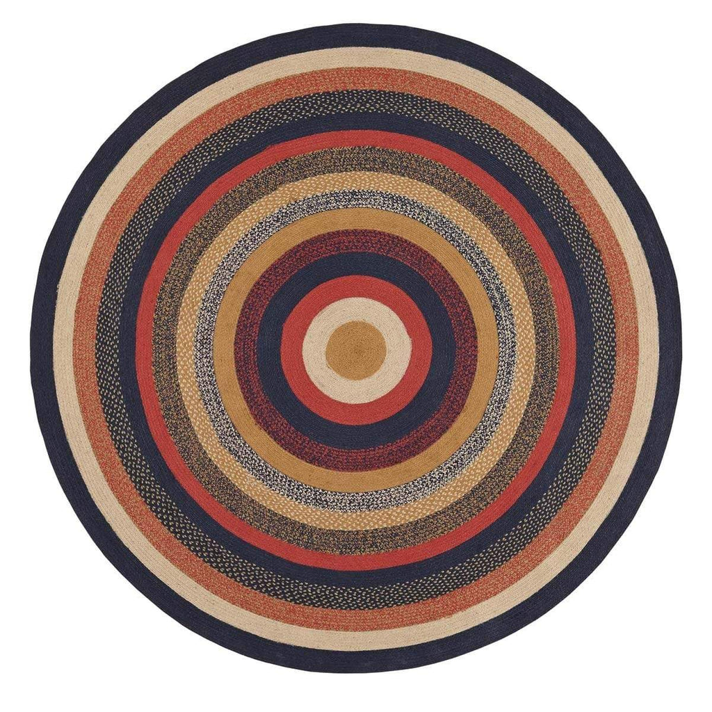 Mayflower Market Rug Stratton Jute Rug 8ft Round