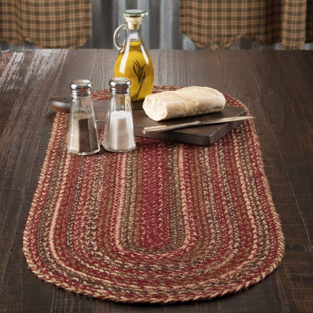 Mayflower Market Runner Cider Mill Jute Runner 13x36
