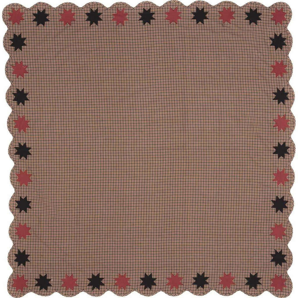 Mayflower Market Table Cloth Carson Star Scalloped Table Cloth 60x60