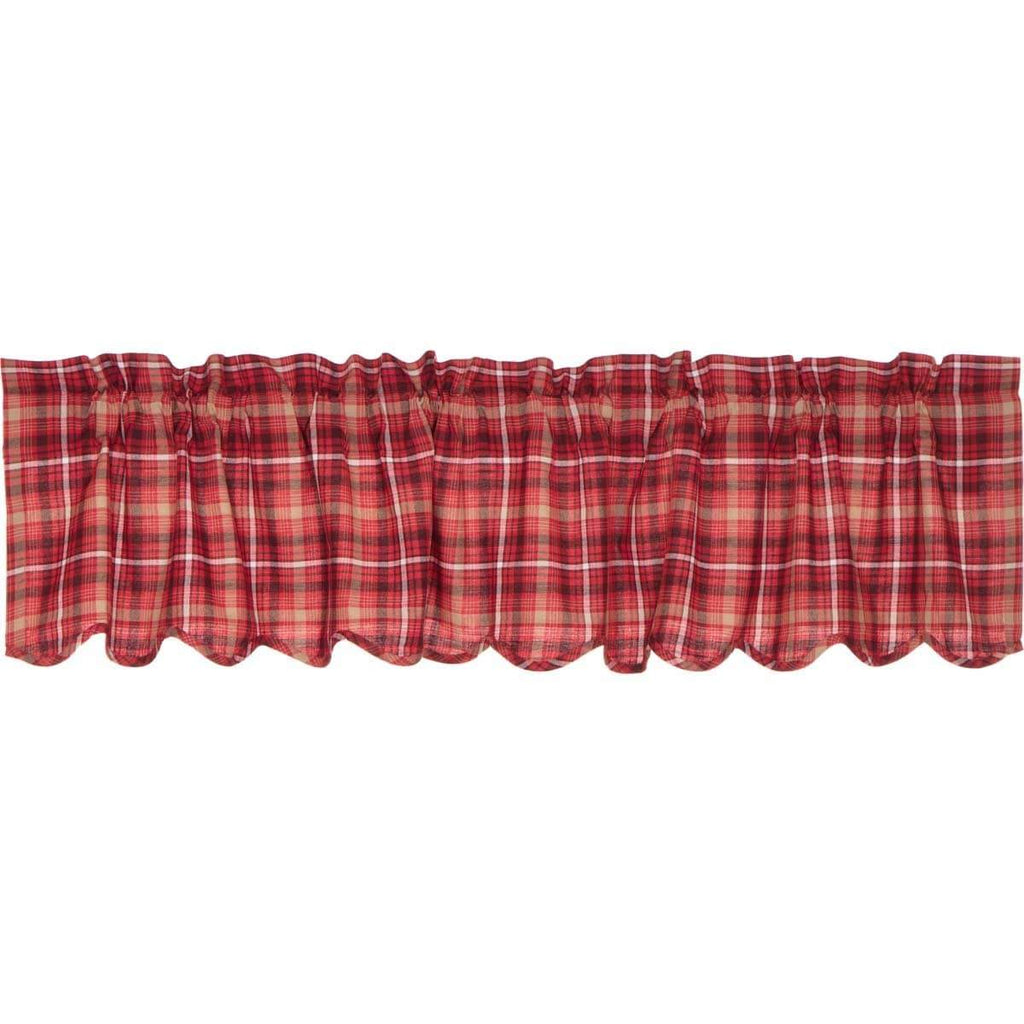 Mayflower Market Valance Braxton Scalloped Valance 16x72