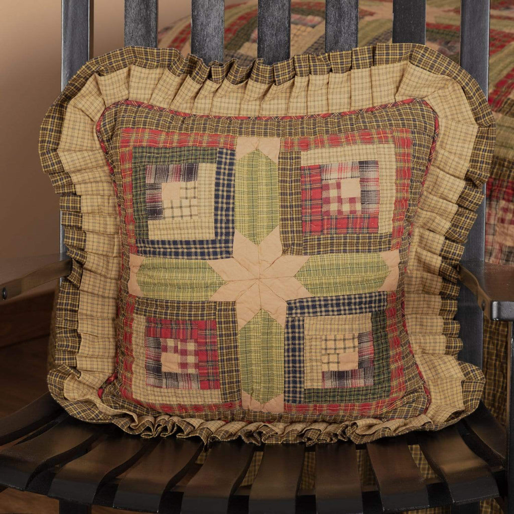 Oak & Asher Pillow Cover Tea Cabin Pillow Quilted 16x16