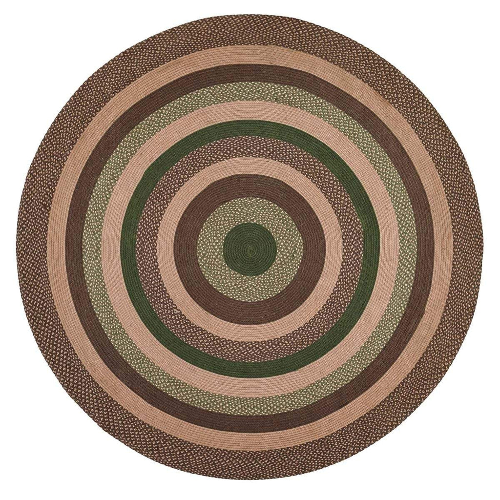Oak & Asher Rug Barrington Jute Rug 8ft Round