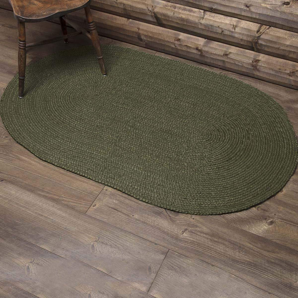 Oak & Asher Rug Cypress Jute Rug Oval 36x60