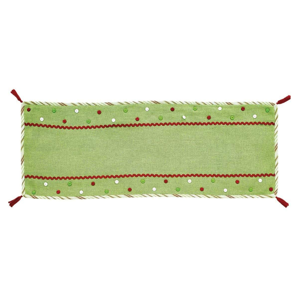 Seasons Crest Runner Whimsical Christmas Runner 13x36