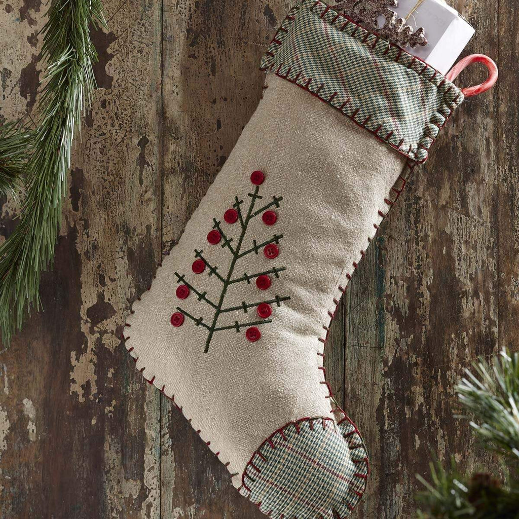 Seasons Crest Stocking Tidings Stocking 11x15