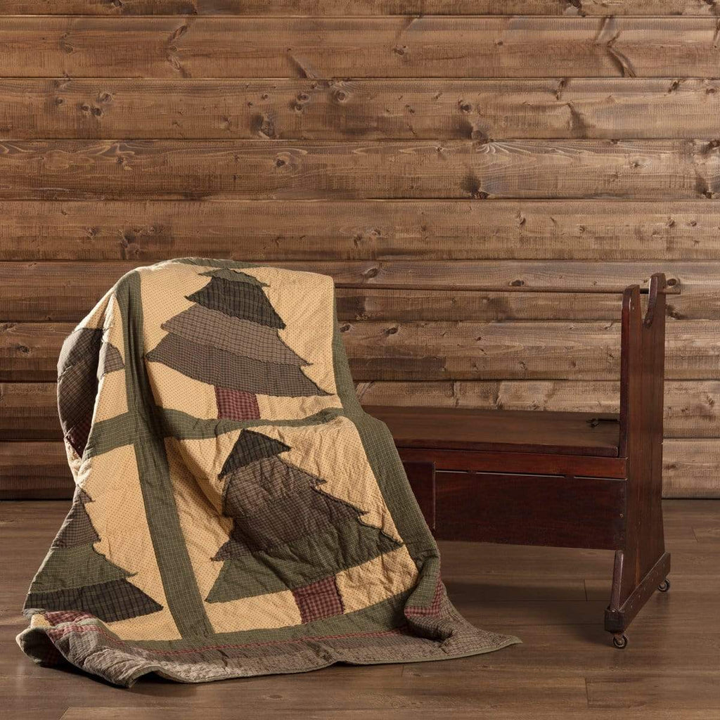 Seasons Crest Throw Sequoia Quilted Throw 60x50