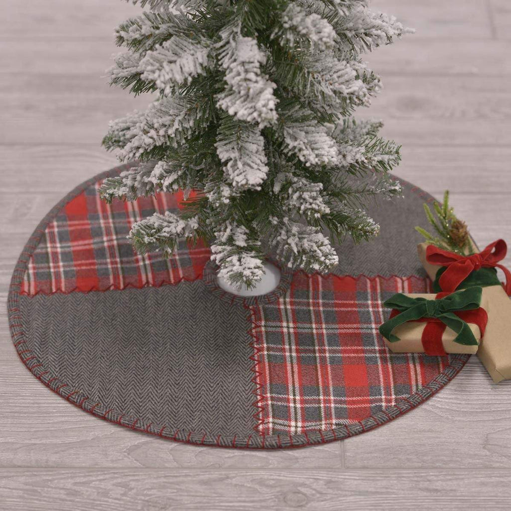 Seasons Crest Tree Skirt Anderson Patchwork Mini Tree Skirt 21