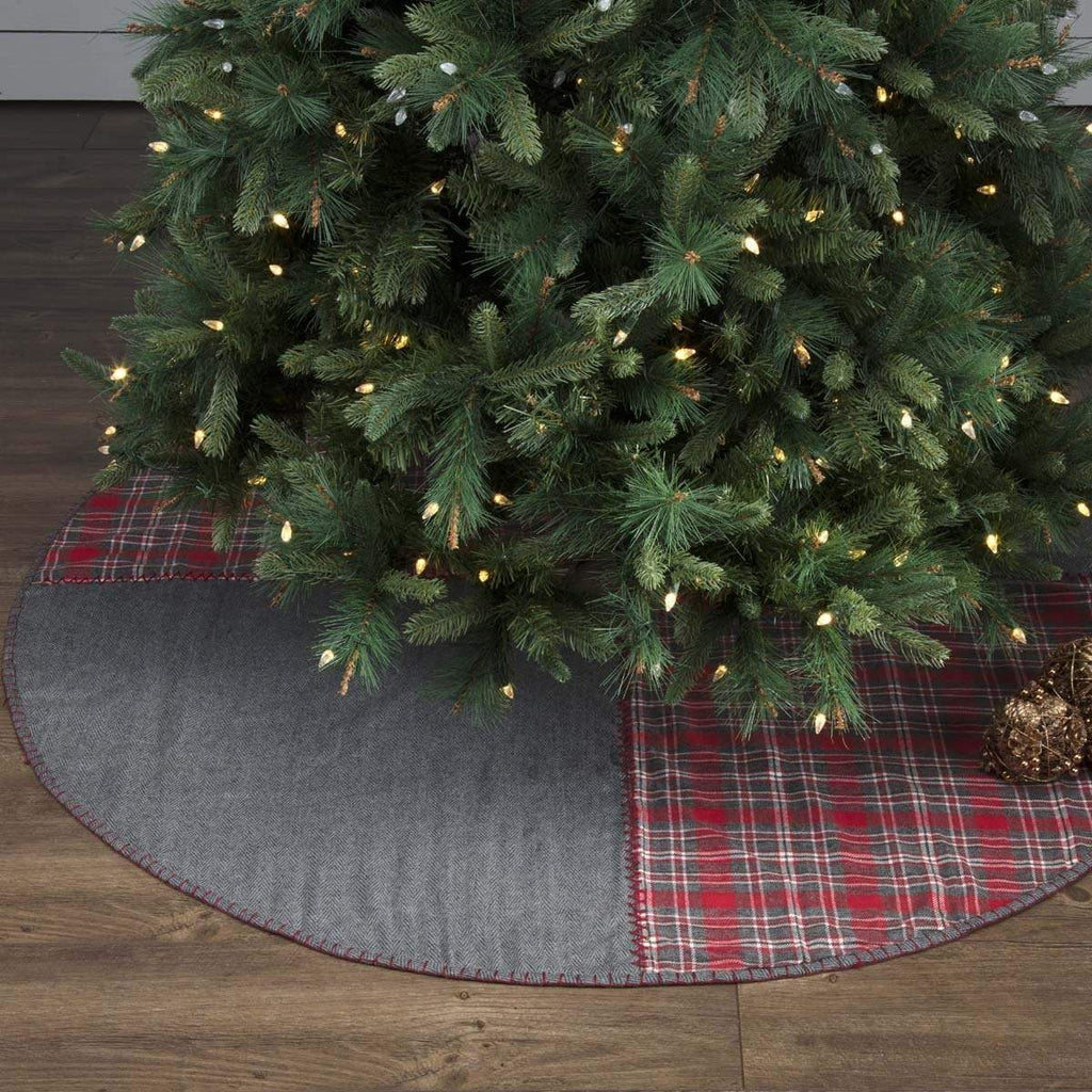 Seasons Crest Tree Skirt Anderson Patchwork Tree Skirt 60