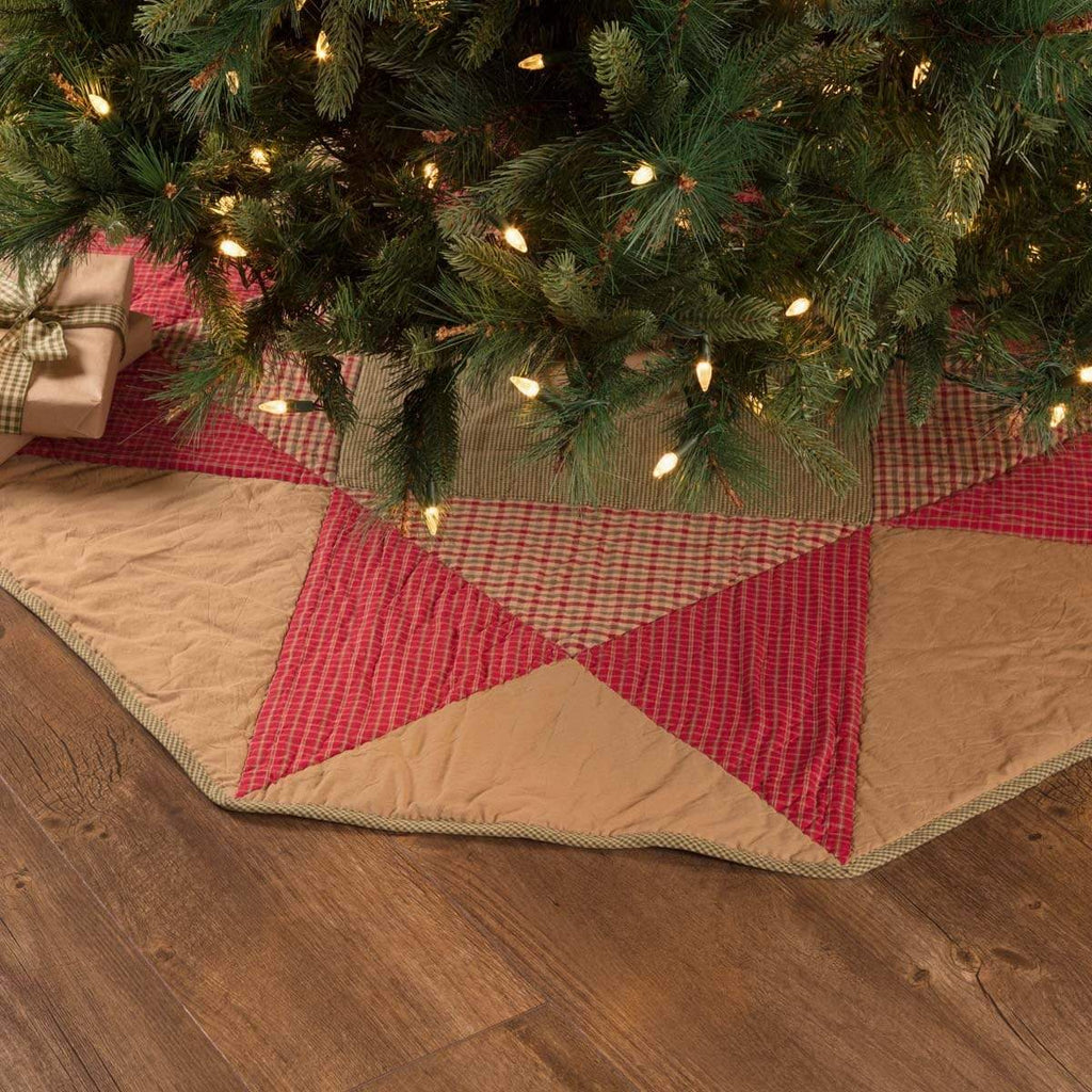 Seasons Crest Tree Skirt Dolly Star Tree Skirt 48
