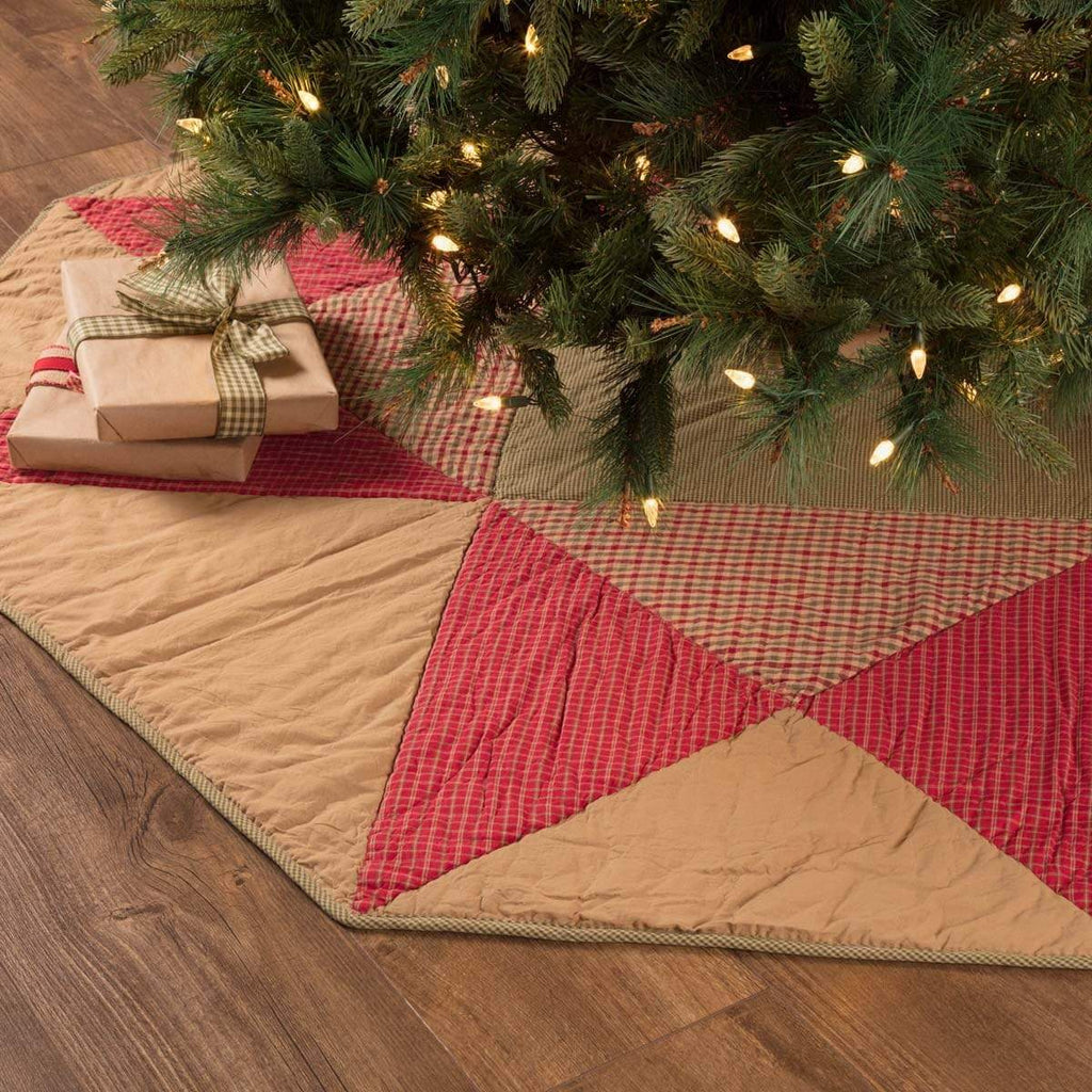 Seasons Crest Tree Skirt Dolly Star Tree Skirt 60