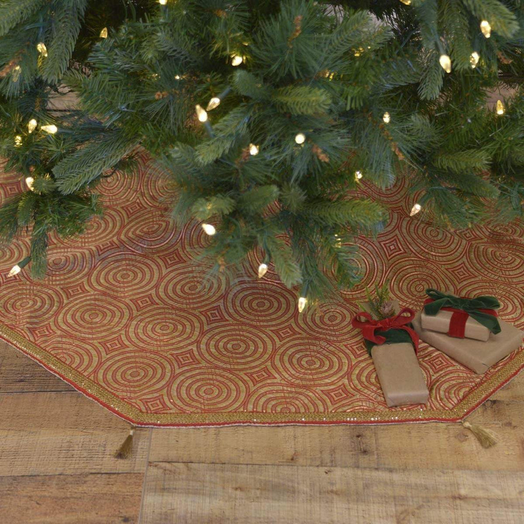 Seasons Crest Tree Skirt Soleil Tree Skirt 55