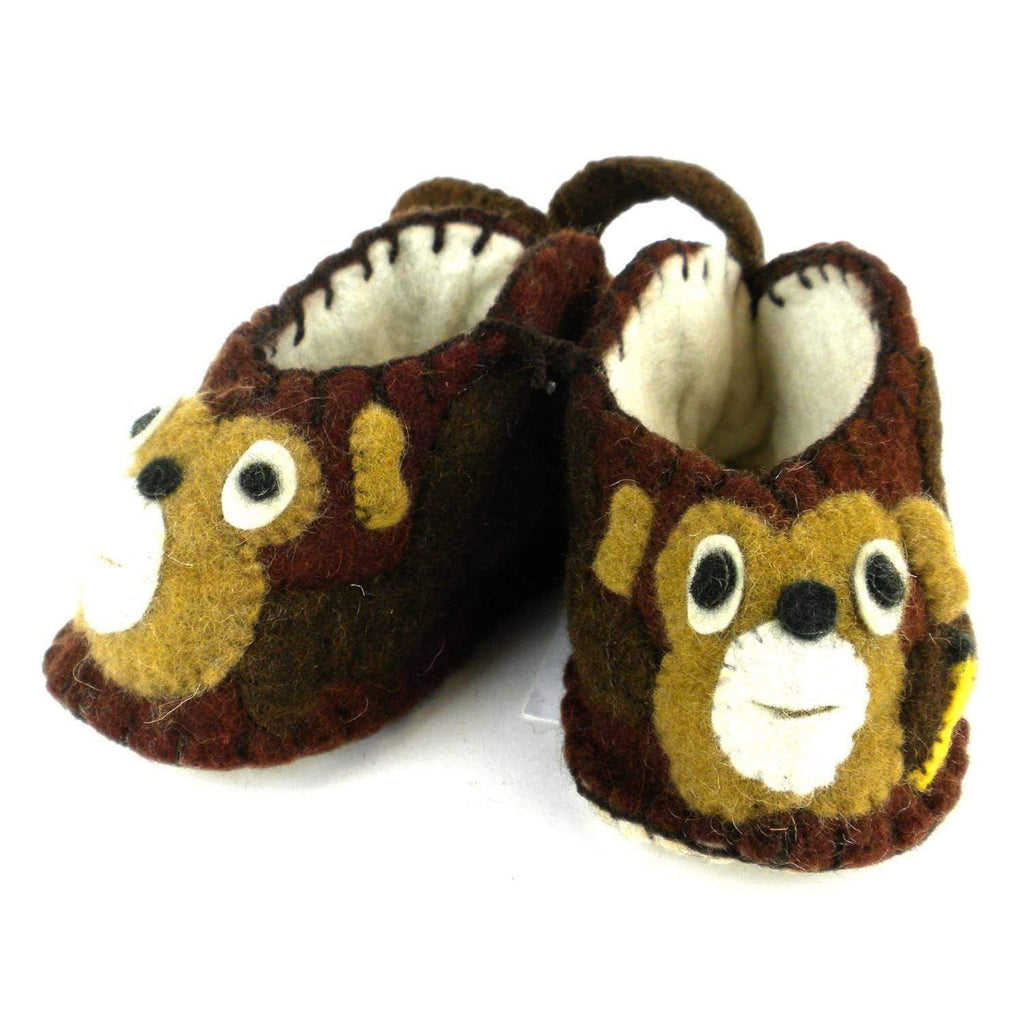 Silk Road Bazaar Baby Apparel And Booties Monkey Zooties Baby Booties - Silk Road Bazaar