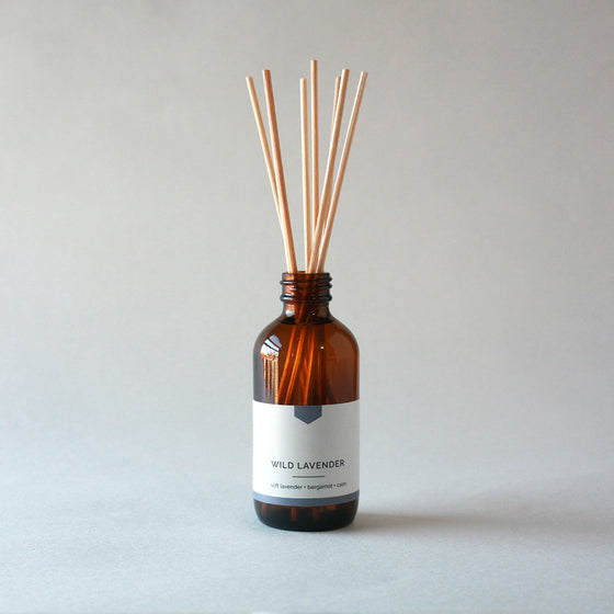 WILD LAVENDER Reed Diffuser