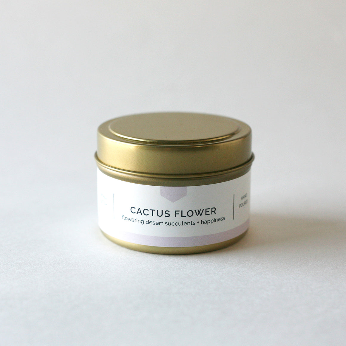 CACTUS FLOWER 4 oz Travel Tin Soy Candle