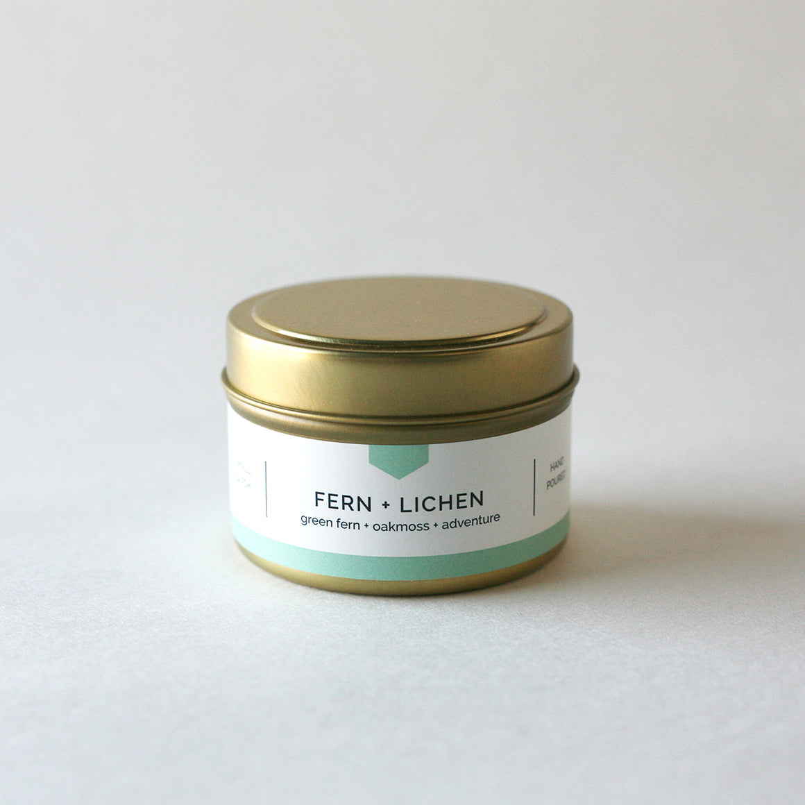 FERN + LICHEN 4 oz Travel Tin Soy Candle