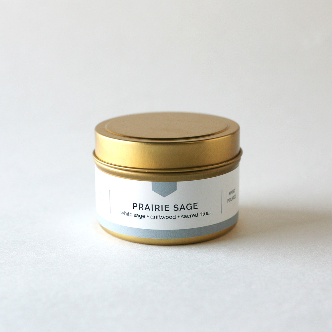 PRAIRIE SAGE 4 oz Travel Tin Soy Candle