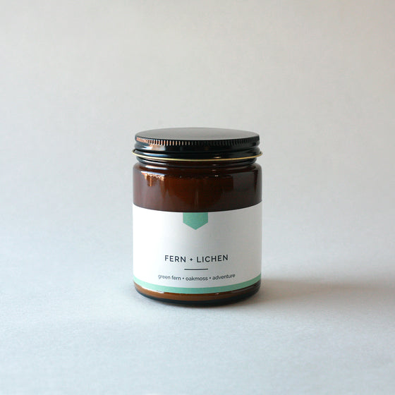 FERN + LICHEN Amber Love Soy Candle