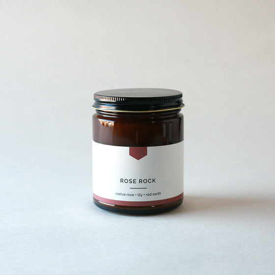 ROSE ROCK Amber Love Soy Candle