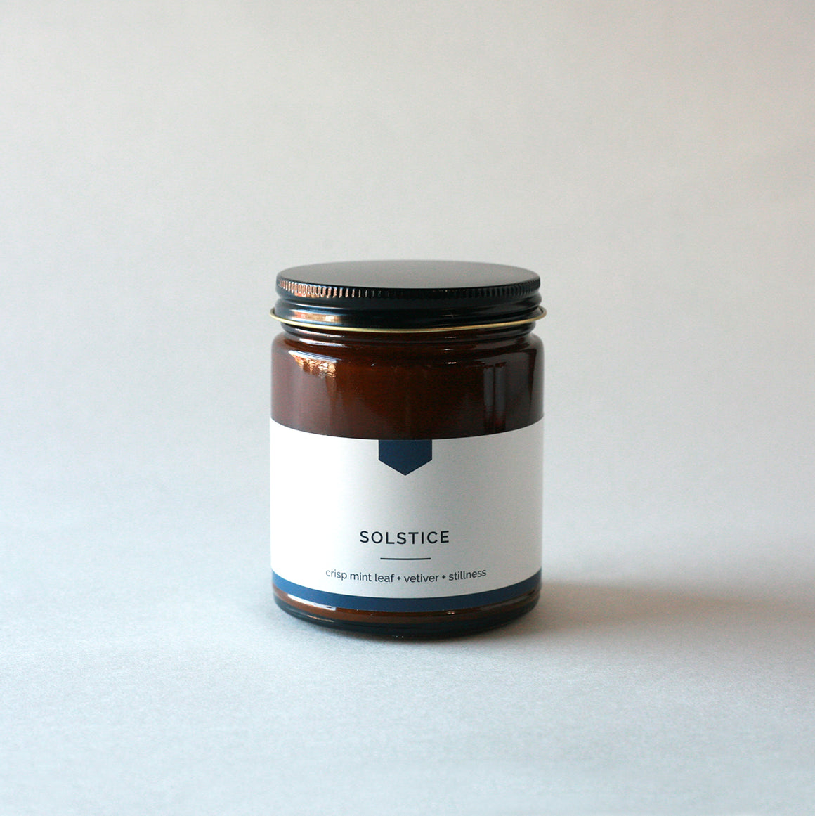 SOLSTICE Amber Love Soy Candle