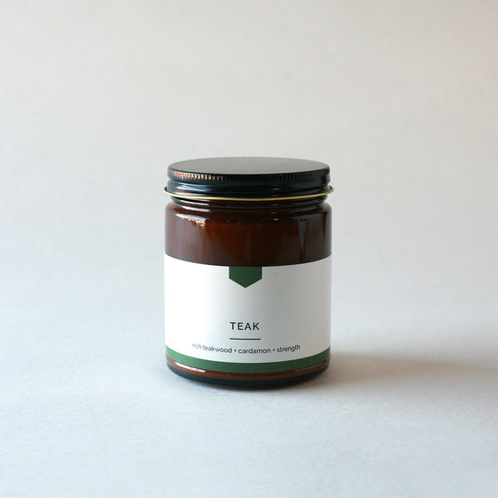 TEAK Amber Love Soy Candle