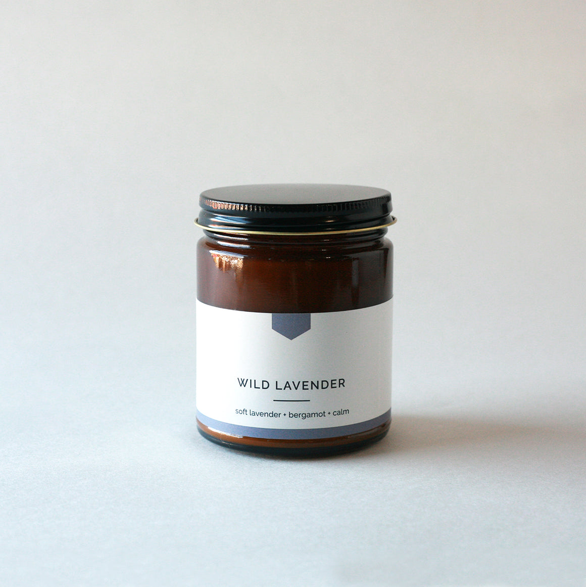 WILD LAVENDER Amber Love Soy Candle