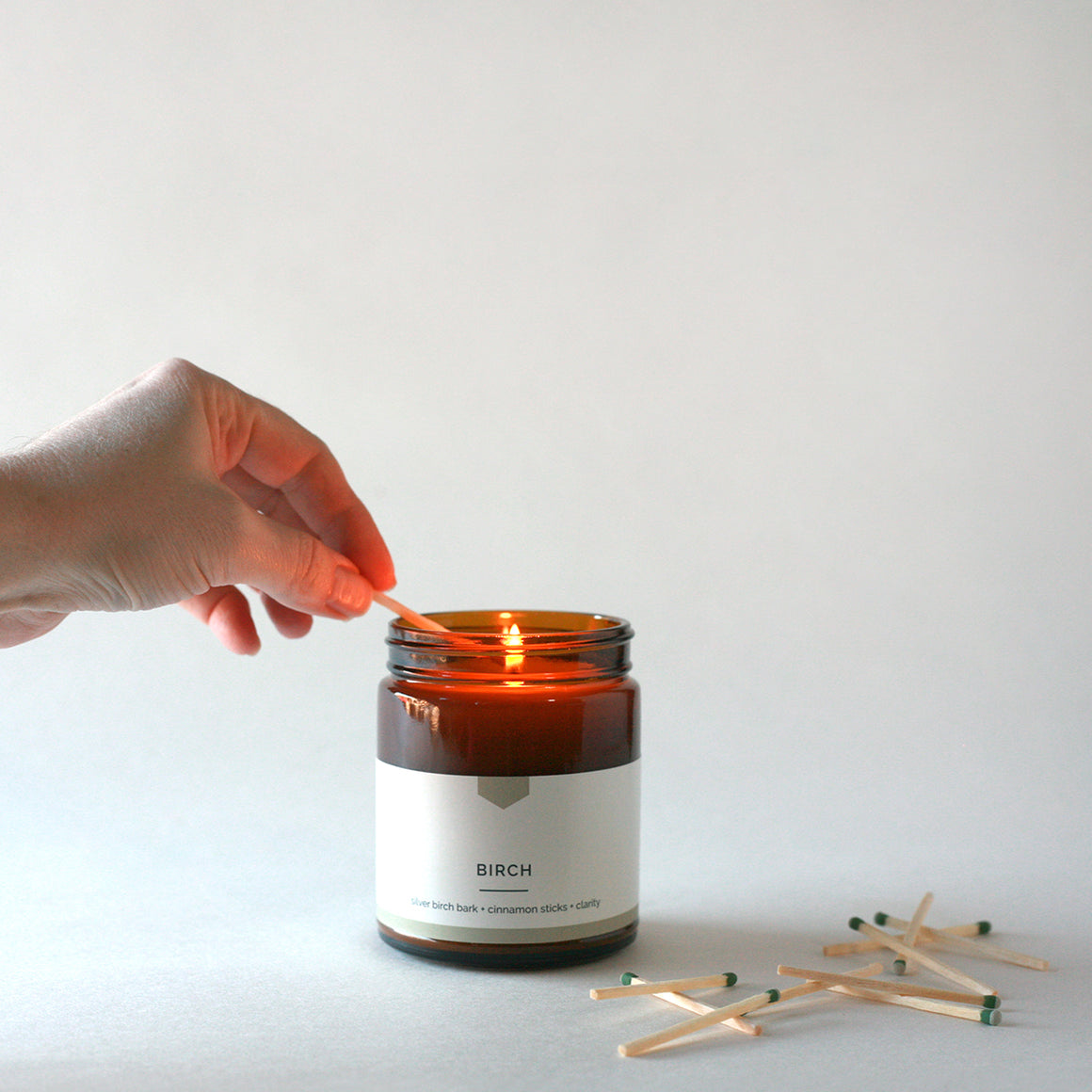 BIRCH Amber Love Soy Candle