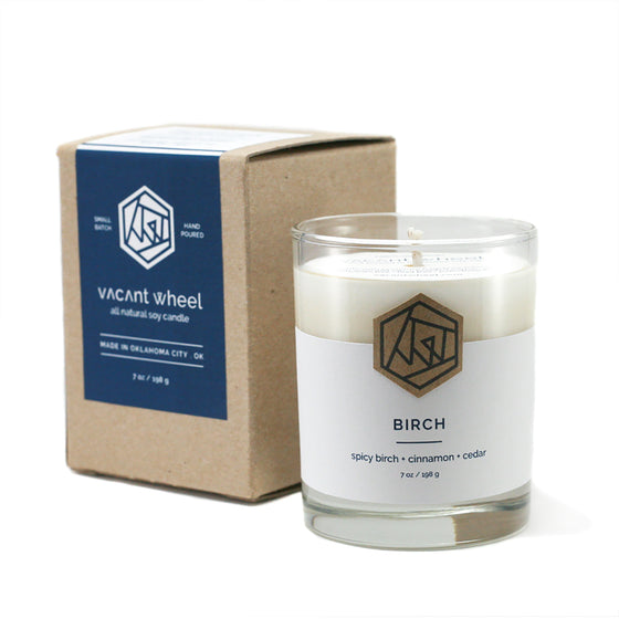 BIRCH Cocktail Glass Soy Candle