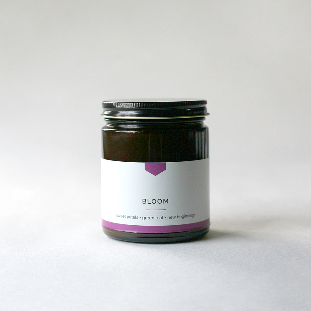 BLOOM 4 oz Travel Tin Soy Candle - LIMITED EDITION