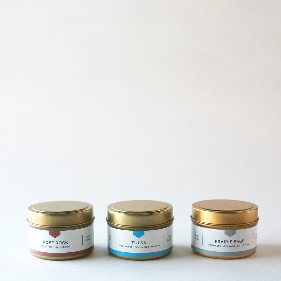 CREATE YOUR OWN - Travel Tin Candle Gift Set ($42 Value)