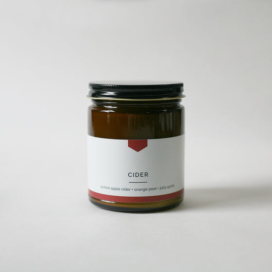 CIDER Amber Love Soy Candle