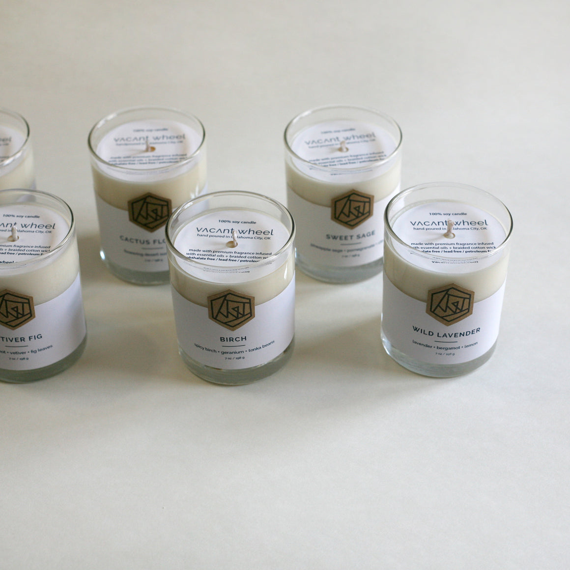 AMBER TONKA BEAN Cocktail Glass Soy Candle