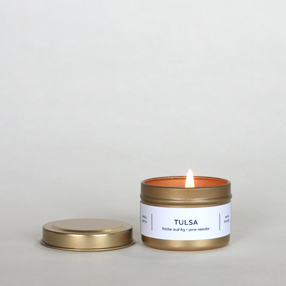 TULSA 4 oz Travel Tin Soy Candle