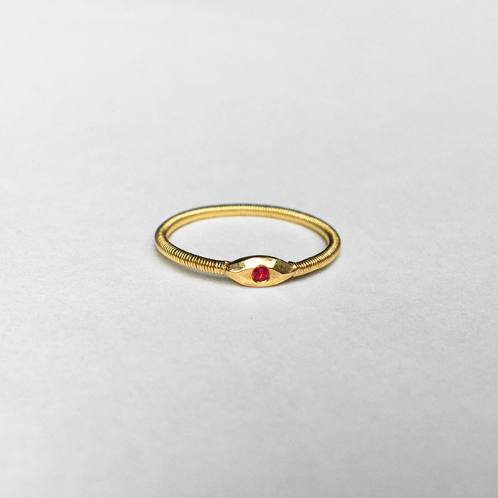 Juni Eye Ruby Ring