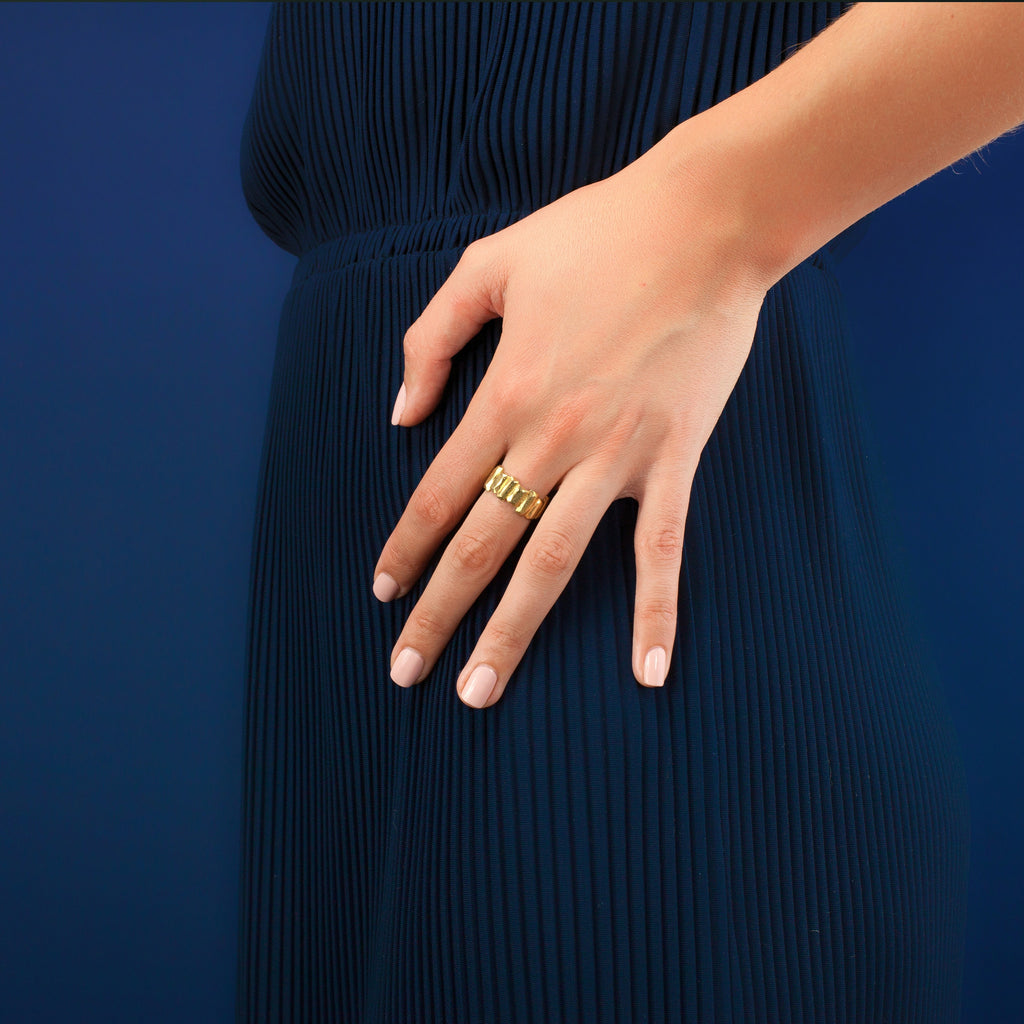 Luci Ring in Gold