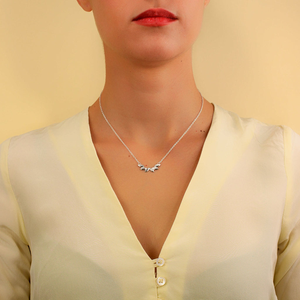 Juni Silver Necklace