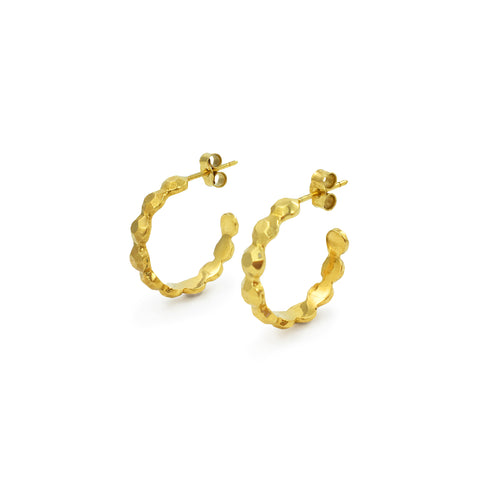 Juni Hoops in Gold