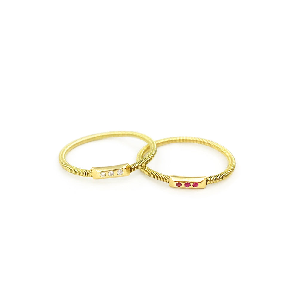 Gracia Trio Diamond Ring