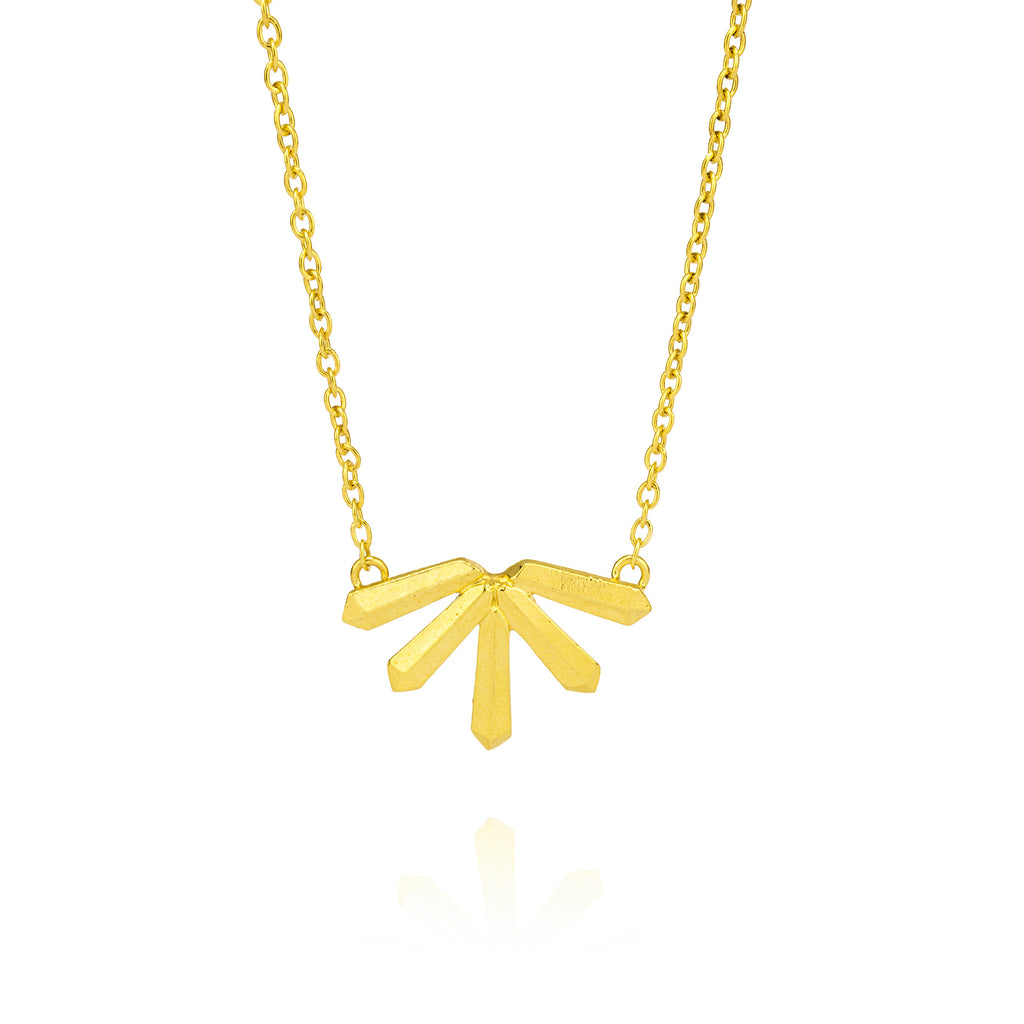 Krysta Necklace in Gold