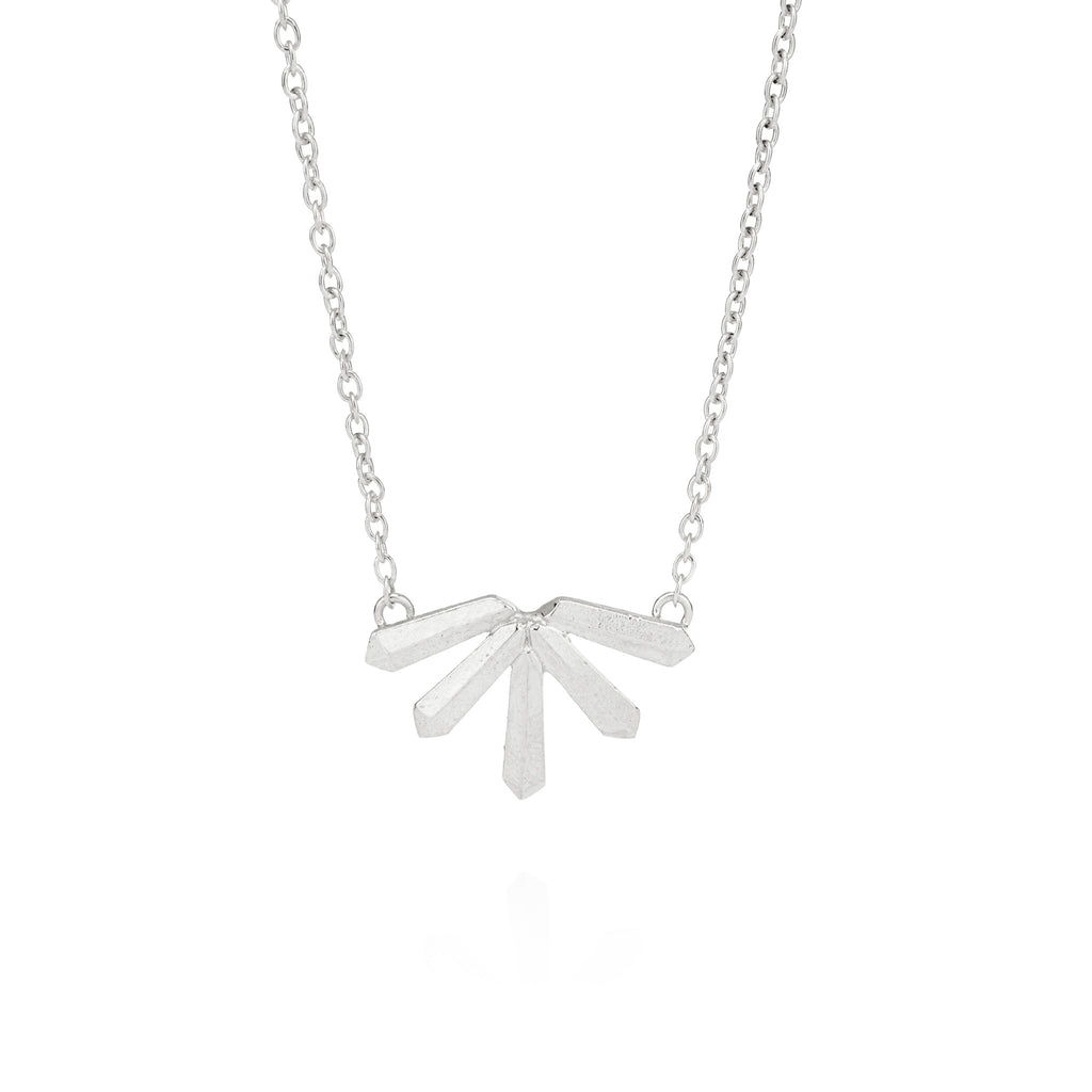 Krysta Necklace in Silver
