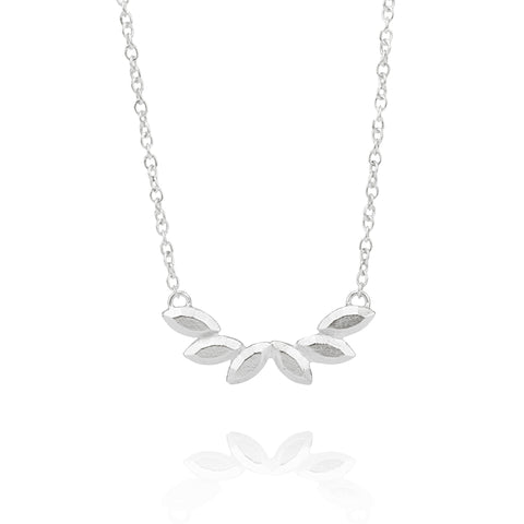 Carmen Necklace in Silver